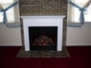 After EF36H Electric Fireplace Installed- Gas Available in Urbana MD