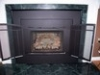 Insert with Prism Door Front for Gas Fireplaces- Urbana MD