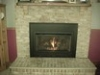 Standard Black Front Gas Fireplaces by WA Tolbard in Urbana MD