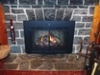 Heat n Glow Grand Gas Fireplace with Halston Doors in Urbana MD