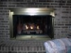 Charred Split Oak- Heating with Gas Fireplaces in Urbana and Frederick MD