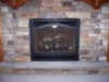 Heating- Fireplaces with Black Aradia Door Kit in Frederick and Urbana MD