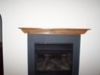 Oak Mantel Gas Fireplace in Urbana and Frederick MD
